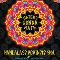 Haters Gonna Hate A Snarky Mandala Adult Coloring Book