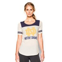 Under Armour Women's 2015 Notre Dame Iconic 6 Jersey T-Shirt