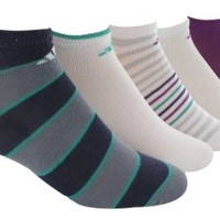 adidas Women's Superlite Graphic No Show Sock, Pack of 6