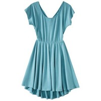 Xhilaration® Juniors Cinched Open Back Fit & Flare Dress - Assorted Colors