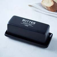 Utility Butter Dish - Black