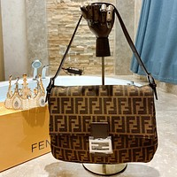 Fendi Fendi Explosion Evening Bag/Crossbody Bag Double F Presbyopia Series