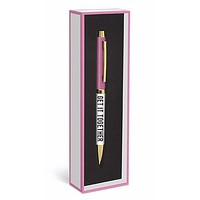 GET IT TOGETHER Pen in Gift Box, Pink and Gold