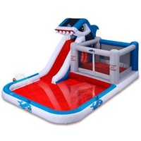 Blast Zone Shark Park Inflatable Water Park Bouncer:Amazon:Toys & Games