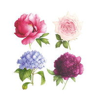 Perennial Set of Scented Temporary Tattly Tattoos