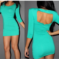 Fanewant — FRESH SEXY BACKLESS DRESS FOR GIRLS