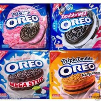 NABISCO OREO CREME FILLED SANDWICH COOKIES OREOS CAKESTERS ~ 25 FLAVOR CHOICES