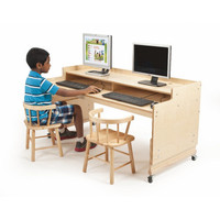 Whitney Brothers Adjustable Computer Desk WB0483