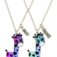 Bff Giraffe Necklaces   Girls Jewelry Accessories   Shop Justice