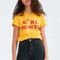 The Style Club Girl Power Tee - Urban Outfitters
