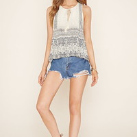 Paisley Print Top | Forever 21 - 2000177371