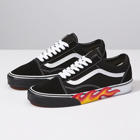 Flame Cut Out Old Skool | Shop At Vans