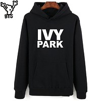 BTS Hot Beyonce Hooded Women Hoodies Sweatshirts Long Sleeve Ivy Park Beyonce Fans Sweatshirt Men Hip Hop Fashion Casual Clothes
