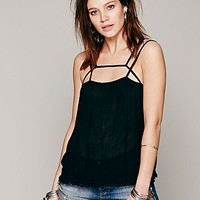Free People Womens Summer Straps Cami