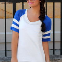 Work for It Top - Royal