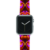 "Aimee St. Hill ""Intertwined Magenta"" Apple Watch Strap"