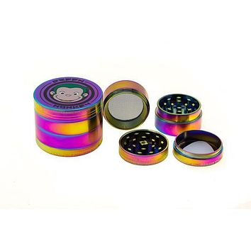 "Green Monkey Titanium Finish Grinder - 2.2"" (55mm)"