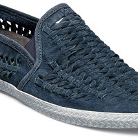 Paco Woven Leather Slip-on by Stacy Adams