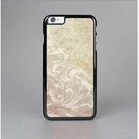 The Tan Vintage Subtle Laced Texture Skin-Sert for the Apple iPhone 6 Skin-Sert Case