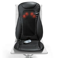 i-need Shiatsu Seat Topper with Heat at Brookstone—Buy Now!