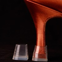 Plastic High Heel Protector for Shoes Heel Protectors for Womens Shoes Plastic Heel Protectors for Latin Dance Shoes