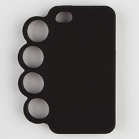 Brass Knuckle Iphone 4/4S Case Black One Size For Men 21059810001