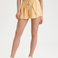 AE Striped Dolphin Short, Yellow