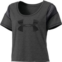 Under Armour Women's Pretty Gritty Big Logo T-Shirt