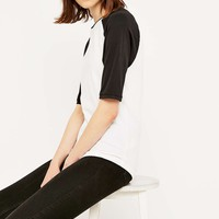 Urban Outfitters 3/4 Sleeve Tucker Raglan - Urban Outfitters