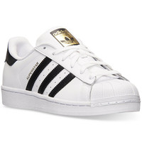 adidas Women's Superstar Casual Sneakers from Finish Line   macys.com