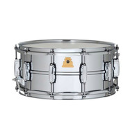 """Ludwig 50th Anniversary LM402 - 6.5"""" x 14"""" Supraphonic Snare Drum at Hello Music"""