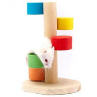 Hamster and Bird Cage Accessories Climbing Ladder Small Pet Rat Toys Supplies Gerbil Mice Chinchilla toys a15