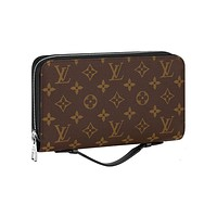 Louis Vuitton Monogram Portafoglio Zippy XL Wallet M61506 Made in France