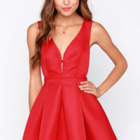Roll of the Bo-Dice Red Dress