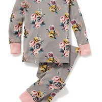 2-Piece Floral Sleep Set for Toddler & Baby   Old Navy