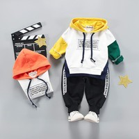 Newborn Baby Boys Clothes 2018 Autumn Winter Baby Girls Clothes Long Sleeved Set Christmas Outfit Baby Suit Infant Baby Clothing