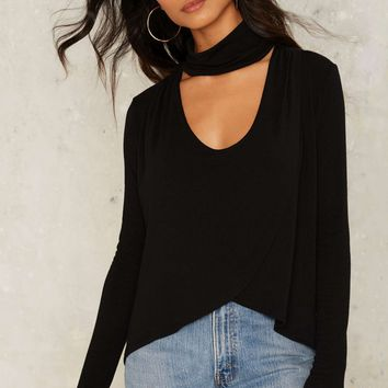 For the Hell of it Wrap Top