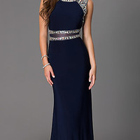 Floor Length Sleeveless Dress by Dave and Johnny