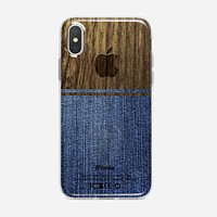 Jeans Denim iPhone X Case