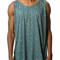 The Lofty Tank Top in Forest Green
