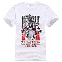 Men Stranger Things Demon Over Will Tee