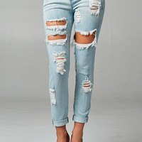Shredded Jeans