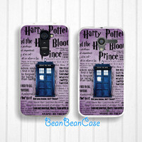 Doctor who tardis police box harry potter case for iPhone 6/4s/5/5s/5c, Samsung S5/Note4, Sony, LG Nexus, Nokia Lumia, HTC One, Moto X Moto G(K31)