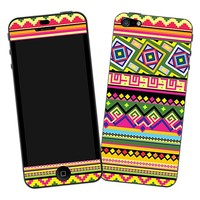 Happy Bright Tribal Skin  for the iPhone 5 by skinzy.com