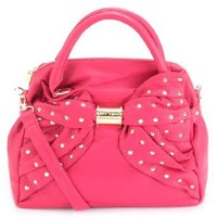 Betsey Johnson Wash Out Dome Satchel-PInk