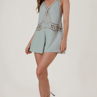 Feel Alright Cut Out Romper