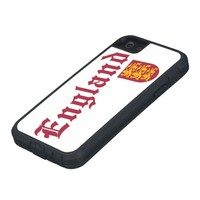 England and Crest iPhone 5 Cases