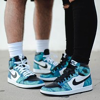 Air Jordan 1 High OG ''Tie dye'' sneakers basketball shoes