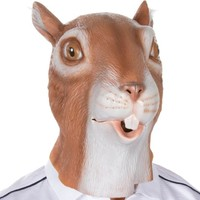 Giant Animal Masks by Allures & Illusions - Squirrel Head Costume Mask