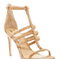 Taj Cork Stiletto Sandal